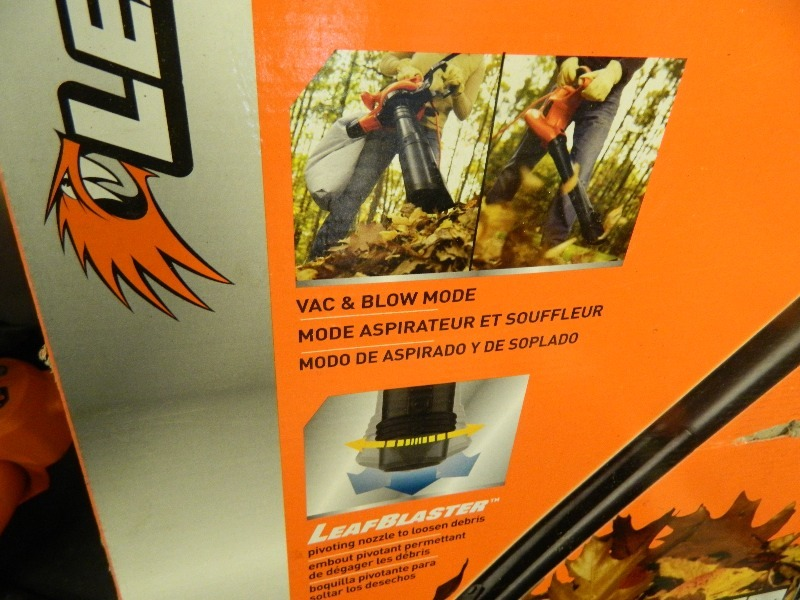black and decker blower vac manual
