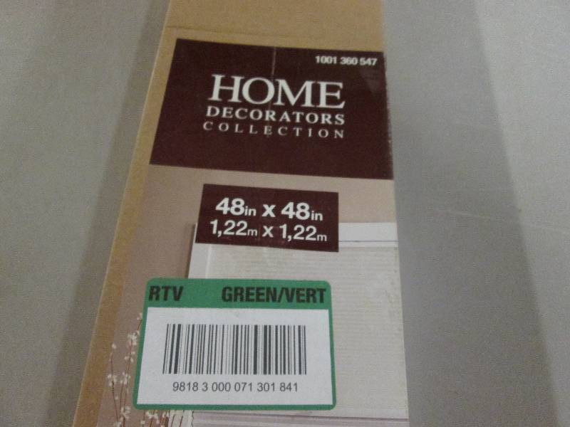 Home Decorators Collection Sheer Wh Window Blinds