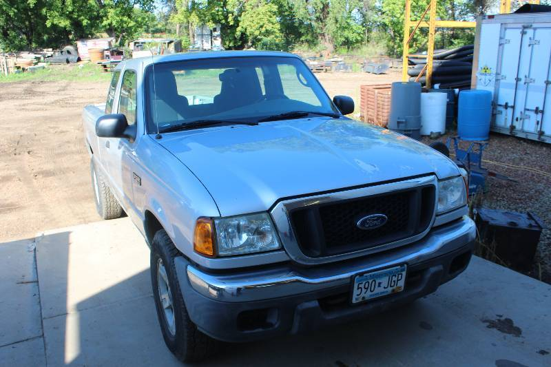2004 ford ranger truck shakopee landscaping commercial equipment surplus sale k bid. Black Bedroom Furniture Sets. Home Design Ideas