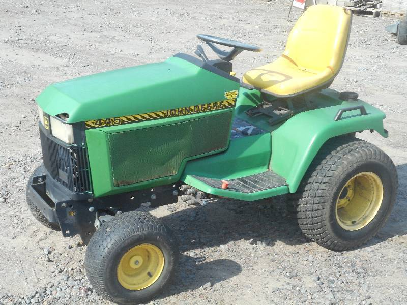 John Deere Lawn Tractor Battery : Le august consignments in loretto minnesota by