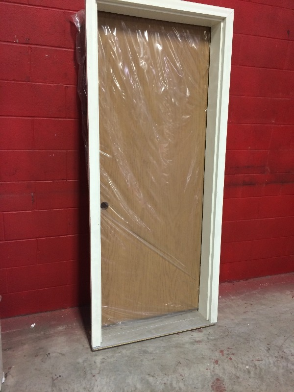 Exterior door and frame new 32 x 80 view all pictures for for High end exterior doors