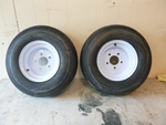 2 NEW Tow-Master Trailer Tires