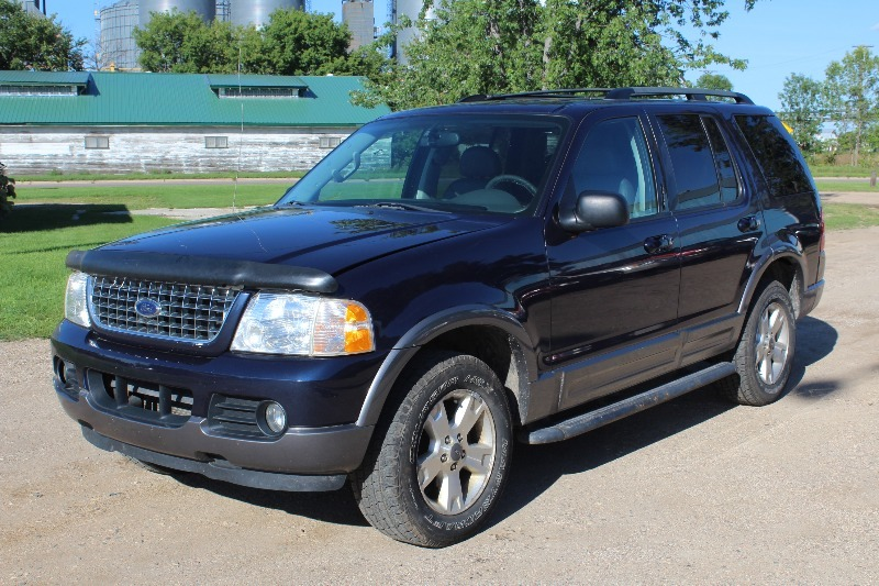 2003 ford explorer xlt 3rd row leather loaded. Black Bedroom Furniture Sets. Home Design Ideas
