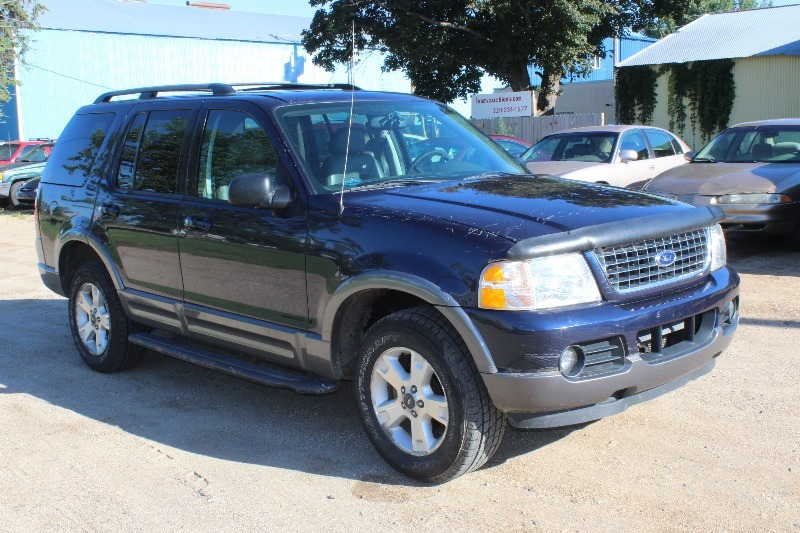 2003 ford explorer xlt 3rd row leather loaded 204 repairables. Black Bedroom Furniture Sets. Home Design Ideas