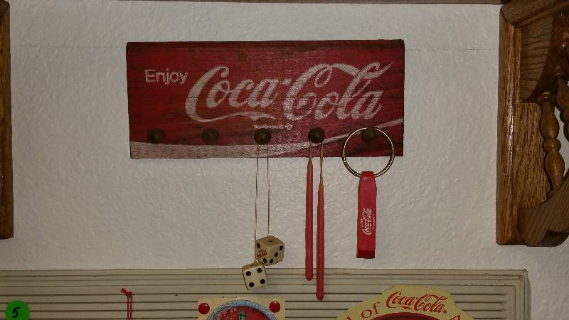 Lifelong Coca-Cola Collection + Coca-Cola Rat Rod in Monticello ...