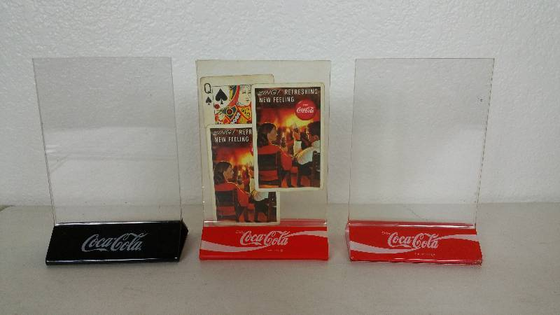 CocaCola Restaurant Table Toppers Lifelong CocaCola Collection - Restaurant table toppers