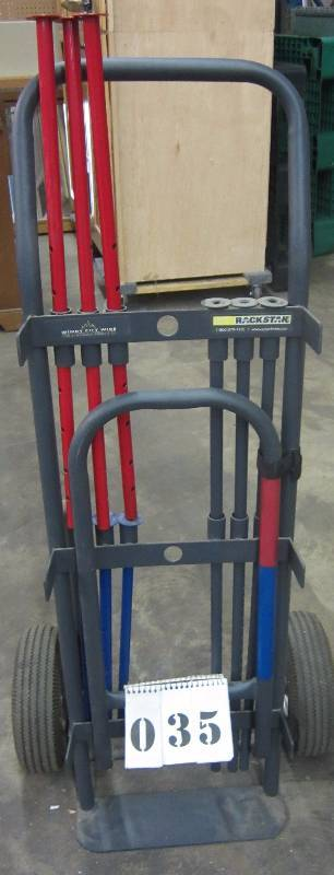 windy city wire rack stack dolly hand truck pro. Black Bedroom Furniture Sets. Home Design Ideas