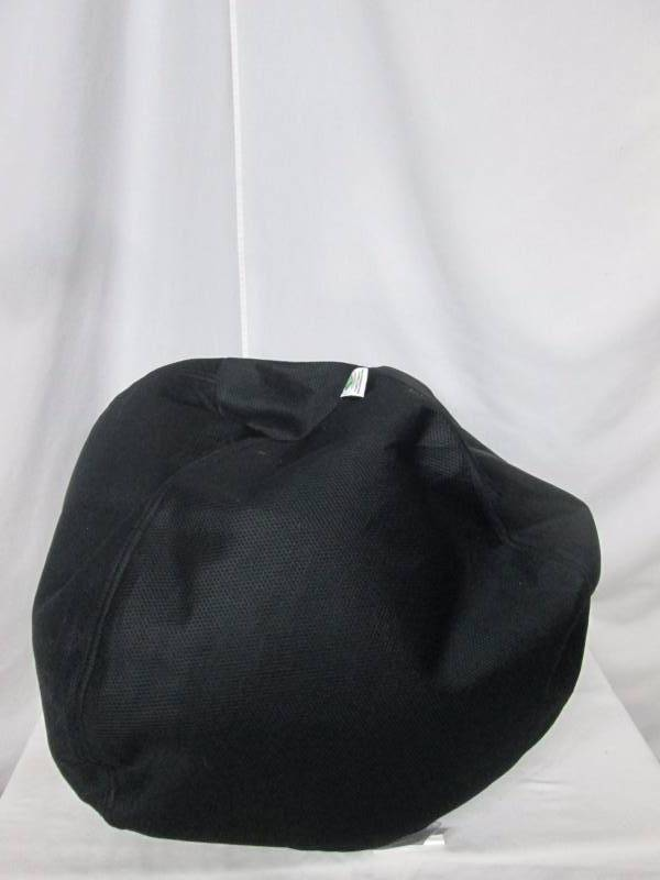 Black Soot Mesh Bean Bag Chair September High End