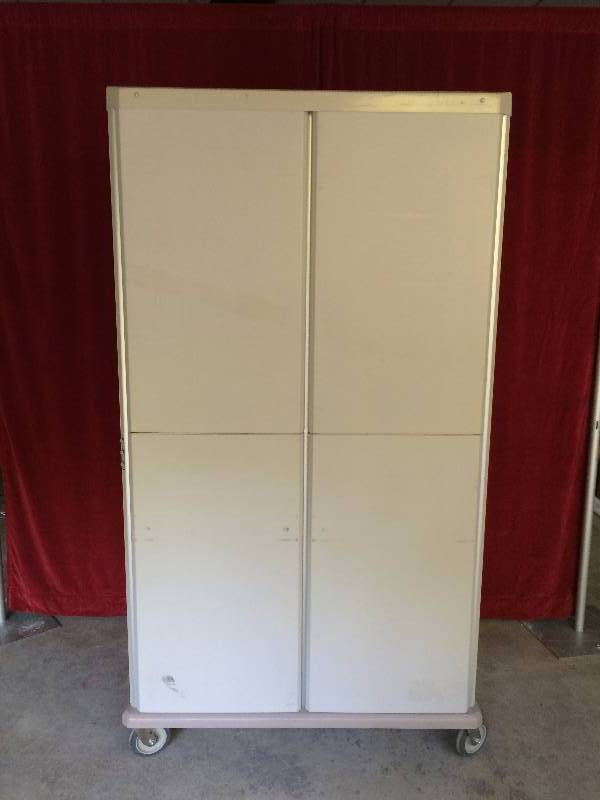 Metro Starsys Tall 76 Quot Double Wide Two Bay Supply Mobile