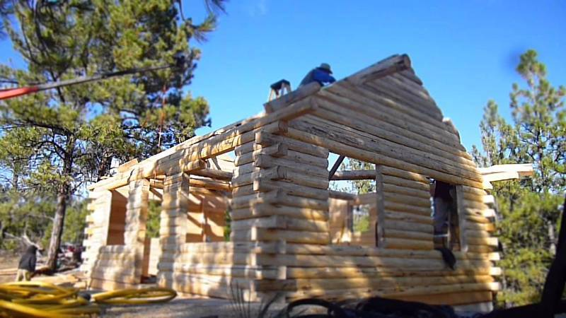 16x24 D Log Cabin Kit Empire Wholesale Cabin Kit And