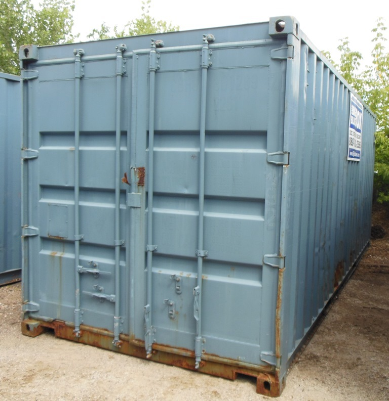 20 39 Approx Steel Shipping Container Storage Box Sea