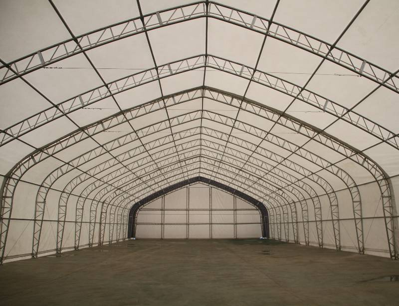 New 40 X 80 X 23 Ft Double Truss Storage Building P408023p 26 5 Oz Pvc Fabric Low