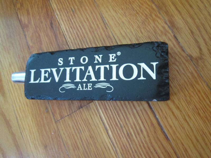 Stone Levitation Beer : Stone levitation ale beer tap collector taps