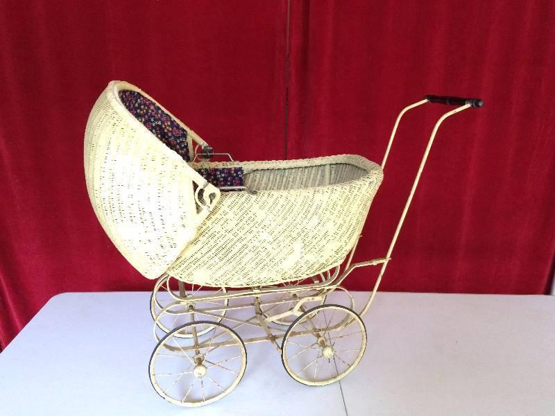 Pretty Sure This Is A Heywood Wakefield Baby Carriage