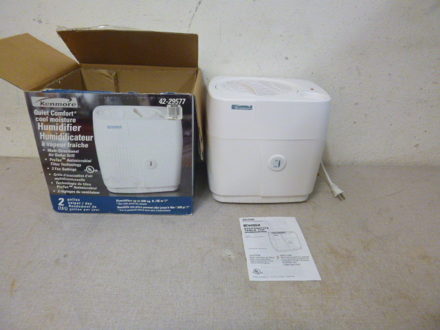 kenmore 14 gallon humidifier manual