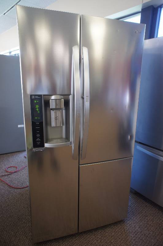 Lg Lsxs26366s Side By Side Refrigerator 35 9 Quot 26 1 Cu