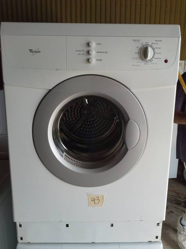 Whirlpool Stackable Washer And Dryer September Appliance