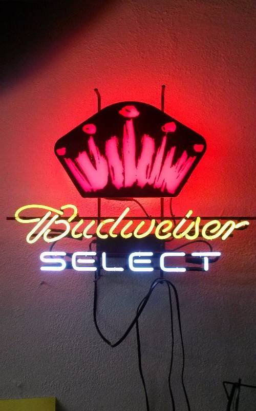Budweiser Select Neon Sign | Toys, Sports, NFL, Football