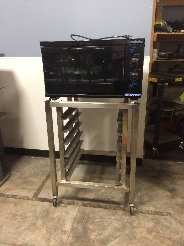 Moffat Turbofan E25 Electric Convection Oven Mounted On