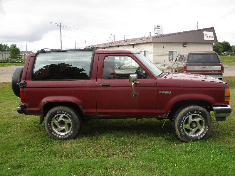 Ford Of Hibbing >> '89 Ford Bronco II XL | Vehicle and Coolant Flushing System Sale | K-BID