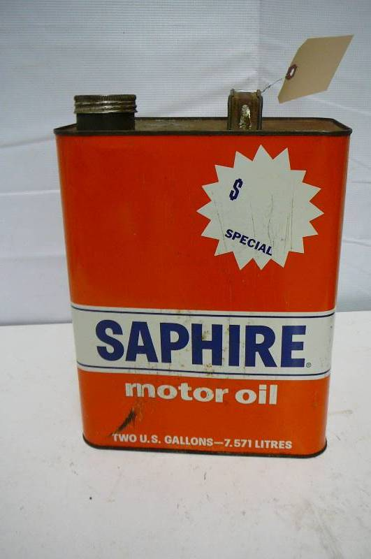 Vintage Motor Oil Can Antiques Vintage Collectibles