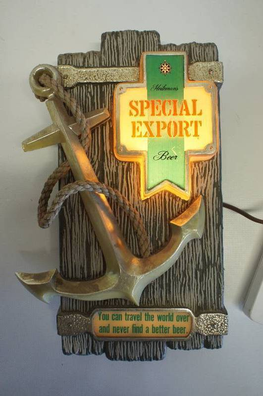 Special Export Lighted Anchor Sign 7 Quot X13 Quot Get Your Beer