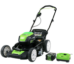 "Greenworks Pro Lithium 21"" Lawn Mower "" 3 in 1"""
