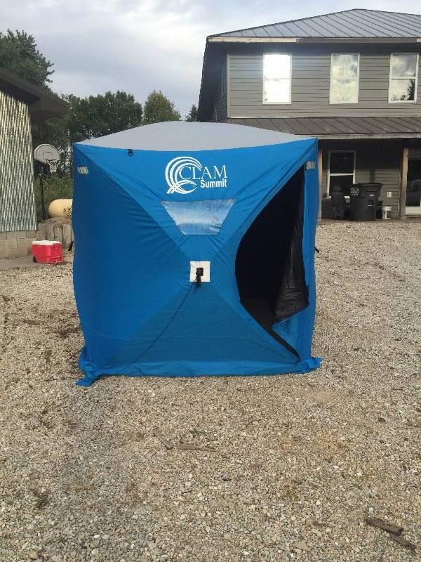 portable fish house pop up high end fishing hunting and
