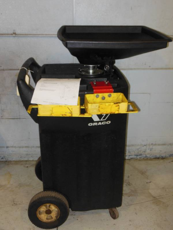Graco 25 Gallon Used Oil Receiver | One Week Auction with NO