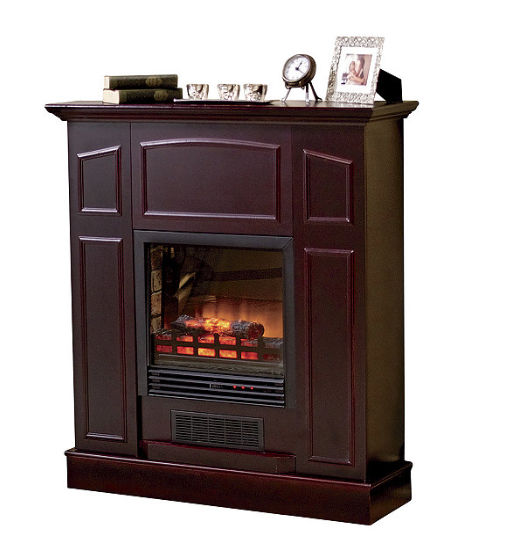 Alcove Franklin Electric Fireplace Heater With Mantel Sota Surplus Auction 38 K Bid