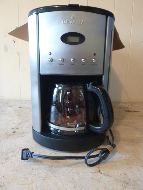 Gevalia 12 Cup Coffee Maker Northstar Kimball September Consignments #2 K-BID