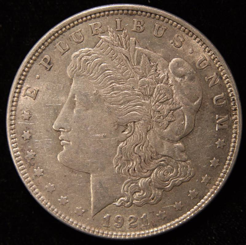 1921 Morgan Silver Dollar Xf October 5th Rare Coin