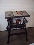 Table Saw 10 in with Accessories   Tested and Works