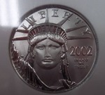 Platinum $50 2002 Eagle MS 69 1/2 oz. Platinum .9999