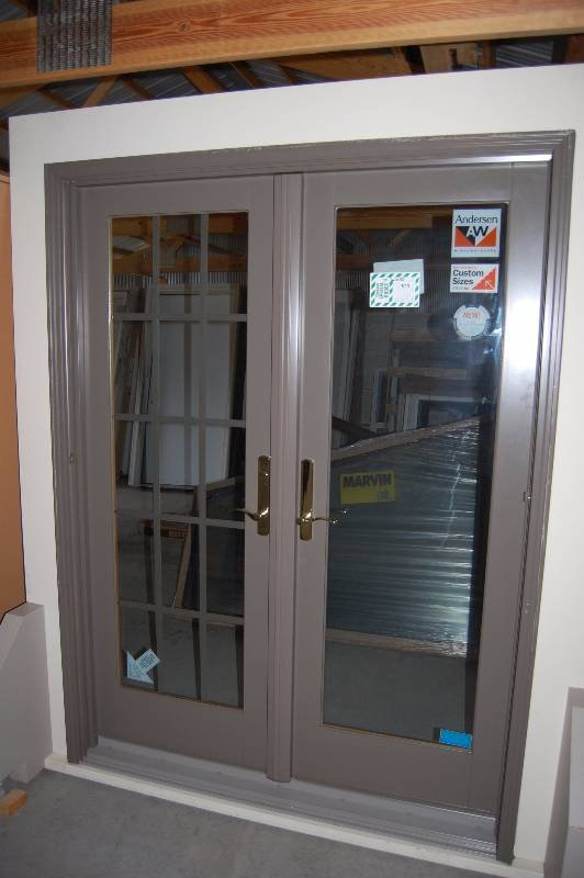 Andersen patio doors probuild liquidation sale k bid for Andersen patio doors