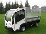 2013 Polaris Goupil All-Electric pickup with Hydraulic Dump Box