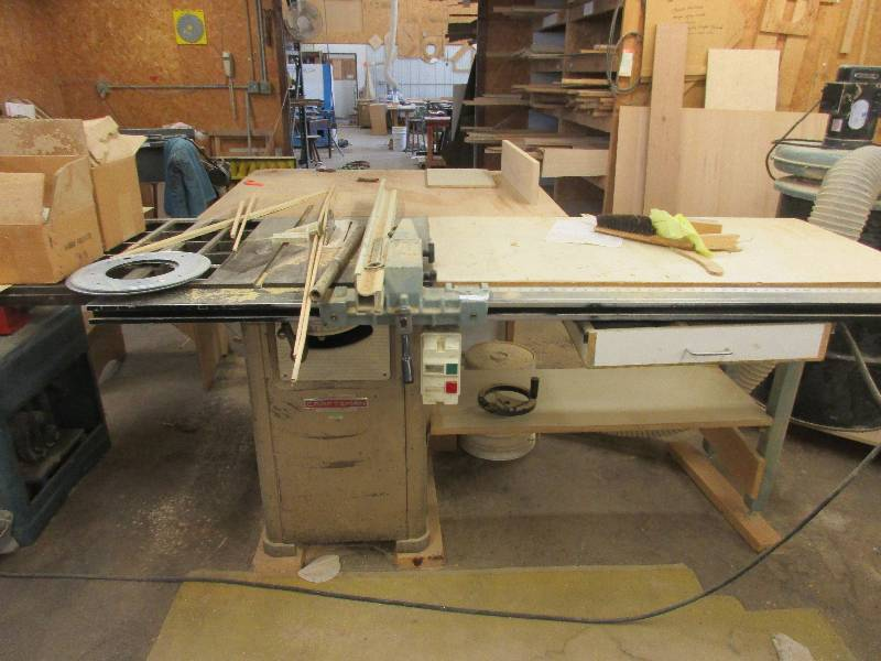 Cabinet Shop Auction In Wells Minnesota By Custom Sales And Consignments