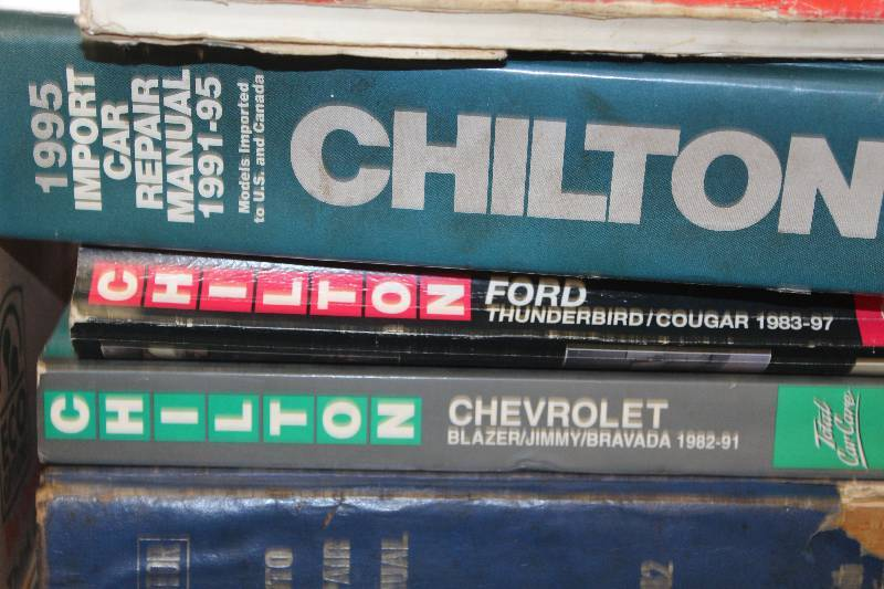 Chilton Auto Repair Manuals And Other Automotive Reading