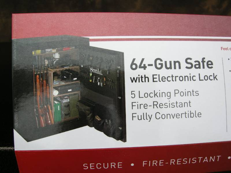 Stack On Sentinel 64 Gun Electronic Safe Like New Gun