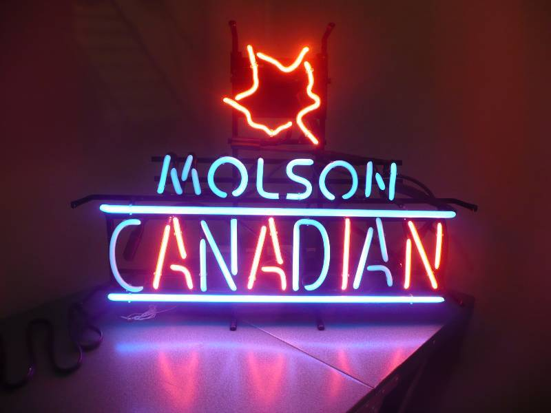 Neon Man Cave Signs Canada : Auction listings in minnesota auctions man