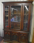 China hutch, some wear around the edges