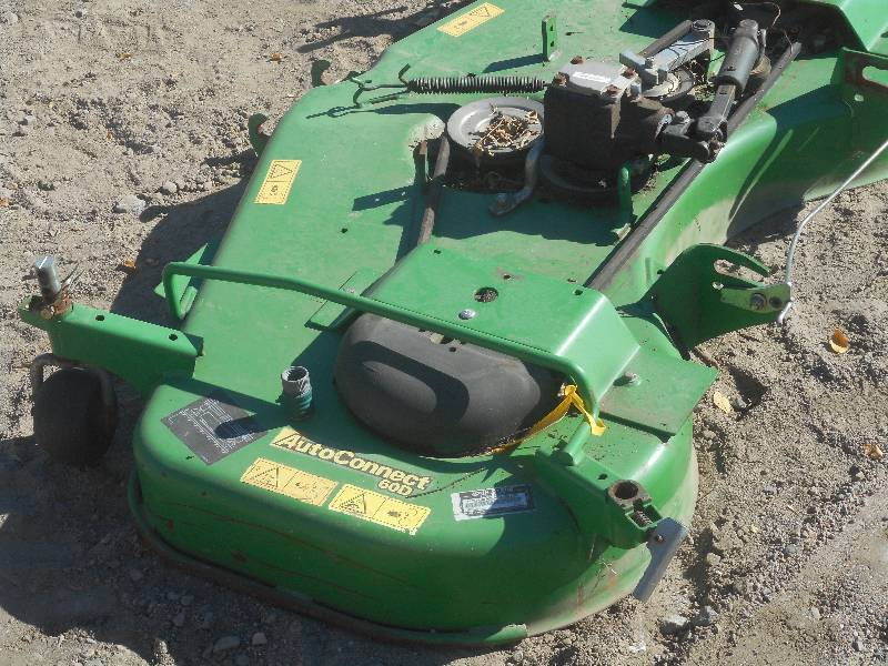 John Deere Auto-Connect 60D Mower D... | LE October ...