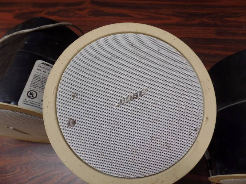 flush mount bose speakers october consignments 1 k bid