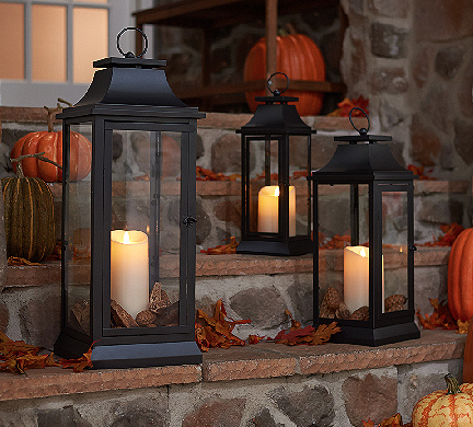 Luminara 25 heritage indoor outdoor lantern with for Decorating outdoor lanterns