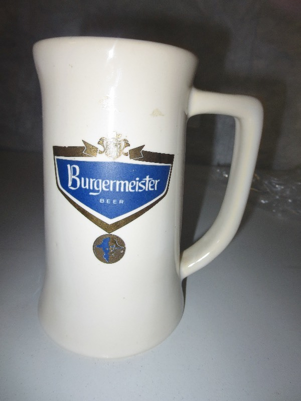 Hamm S Burgermeister Beer Mug Beer Collectibles K Bid