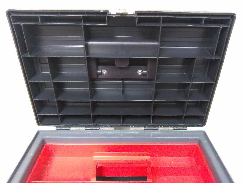 Stanley Latching Tote Tool Box Step Stool Combination