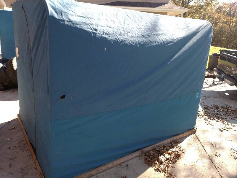 Fish house 6 39 x 8 39 fish houses fishing heaters for Fish house heaters