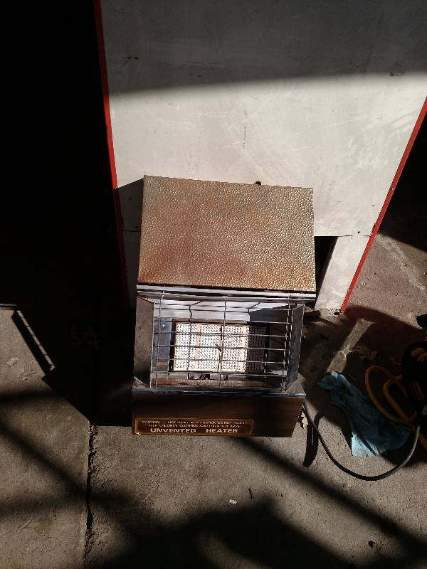 Fish house heater fish houses fishing heaters for Fish house heaters
