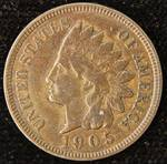 1905 INDIAN HEAD CENT FINE