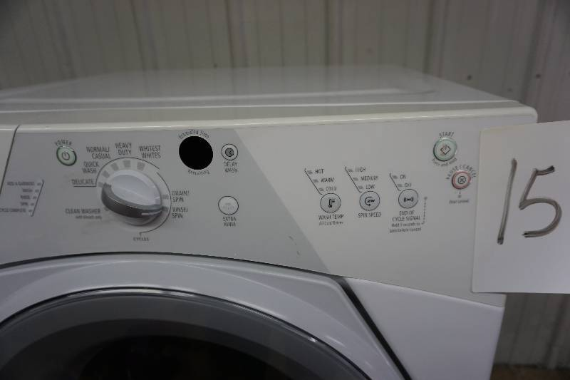 Whirlpool Model Wfw8300sw04 Duet Sport Front Load Washing